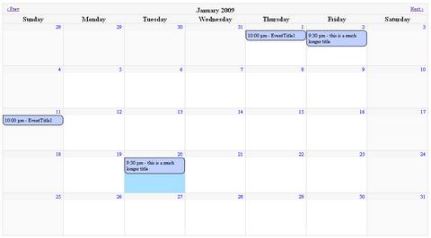 Jquery Scheduler Calendar Jquery Calendar Plugin